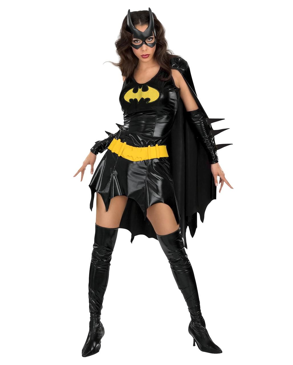 Batgirl Sexy Deluxe Costume ...  sc 1 st  Horror-Shop.com & Batgirl Sexy Deluxe Costume Superhero costume | horror-shop.com