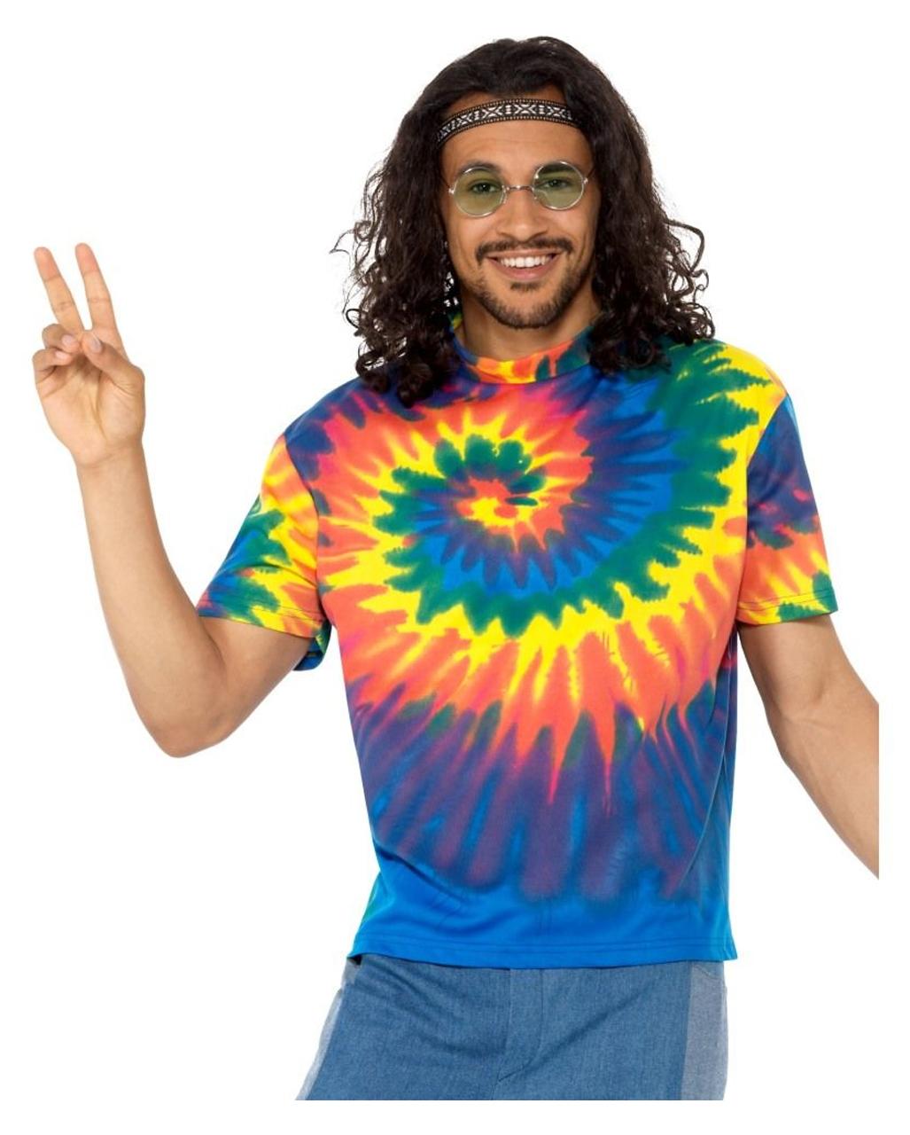 Batik Hippie Herren Kostumshirt 60er Jahre Horror Shop Com