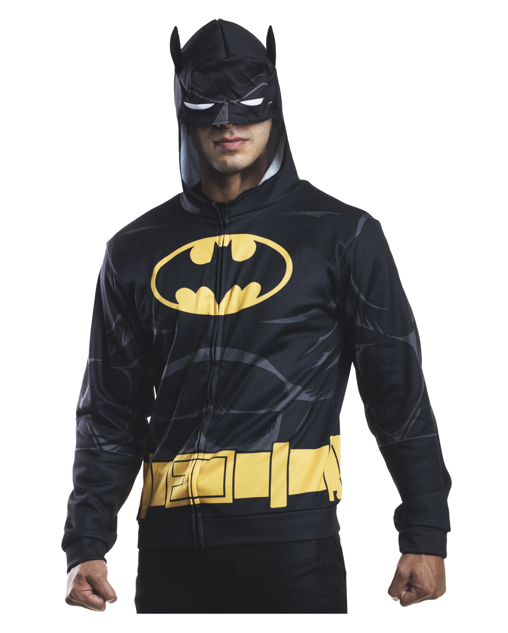 Batman Hoodie  sc 1 st  Horror-Shop.com & Batman Hoodie | Fancy Batman jacket with hood | horror-shop.com