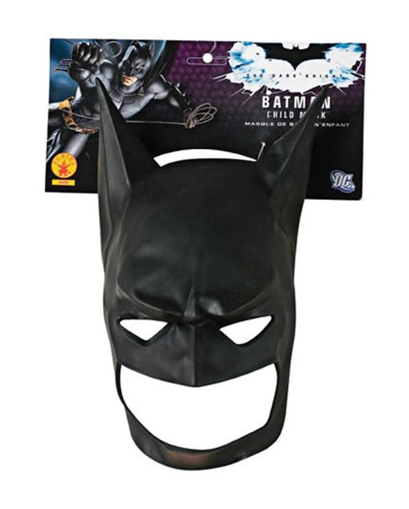 Batman Kindermaske aus Latex | Batman Maske für Kinder | Horror-Shop.com