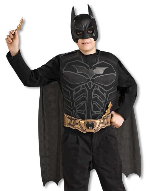 Batman costume children  sc 1 st  Horror-Shop.com & Batman costume children | Original licensed The Dark Knight Rises ...