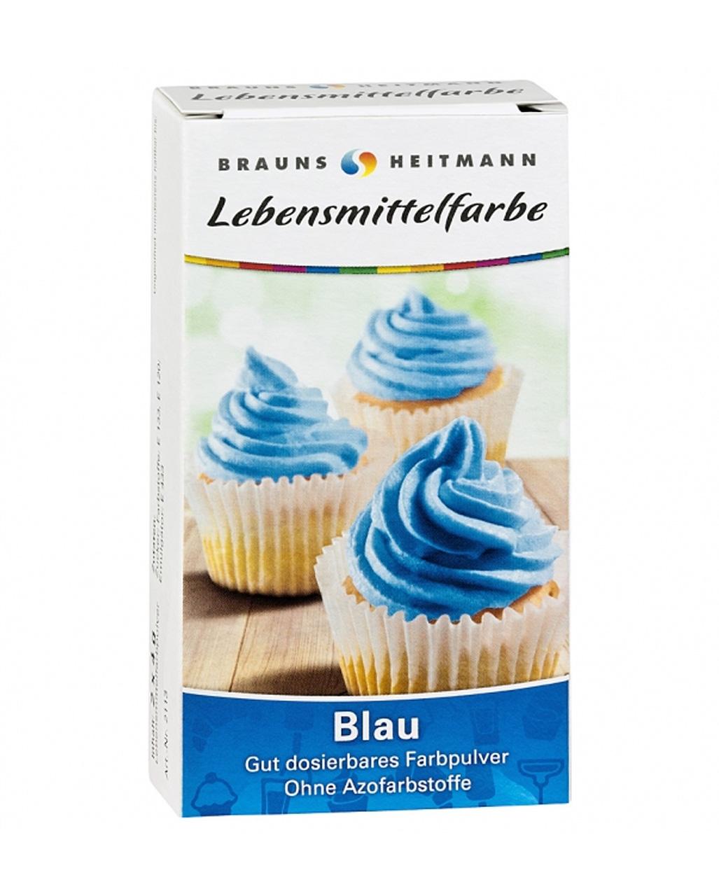 Lebensmittelfarbe Blau -blaue Lebensmittelfarbe zum färben von Cup ...