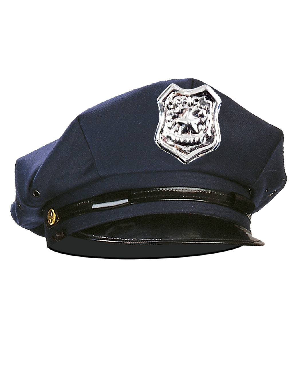 Blue police cap  sc 1 st  Horror-Shop : police officer hat costume  - Germanpascual.Com