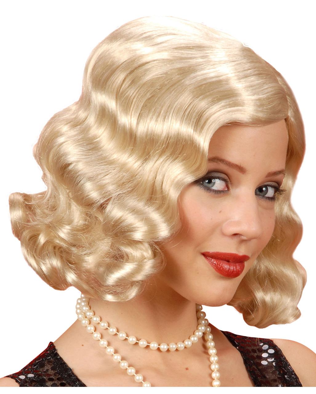 20er Jahre Perucke Blond Perucken Gunstig Kaufen Horror Shop Com