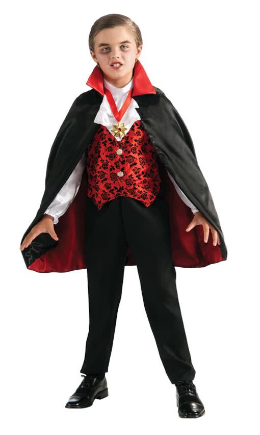 vampire kids costume deluxe dracula costume for children horror shopcom - Vampire Pictures For Kids