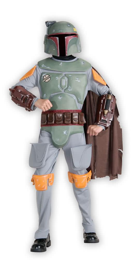 Boba Fett Deluxe Kinder Kostüm Original Lizenzierter Star Wars