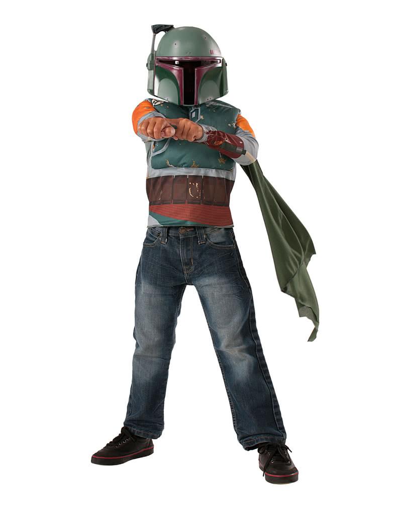 boba fett costume set for children star wars bounty hunter costume