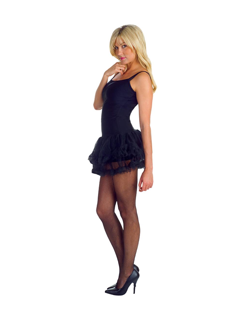 Petticoat Kleid schwarz als sexy Kostüm | Horror-Shop.com