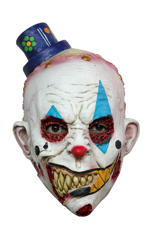 Böser Clown Kindermaske für Halloween | Horror-Shop.com
