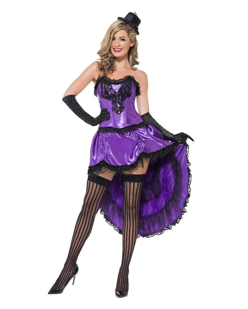 Burlesque Can-Can costume Violet | Showgirl Costume | Showgirl ...