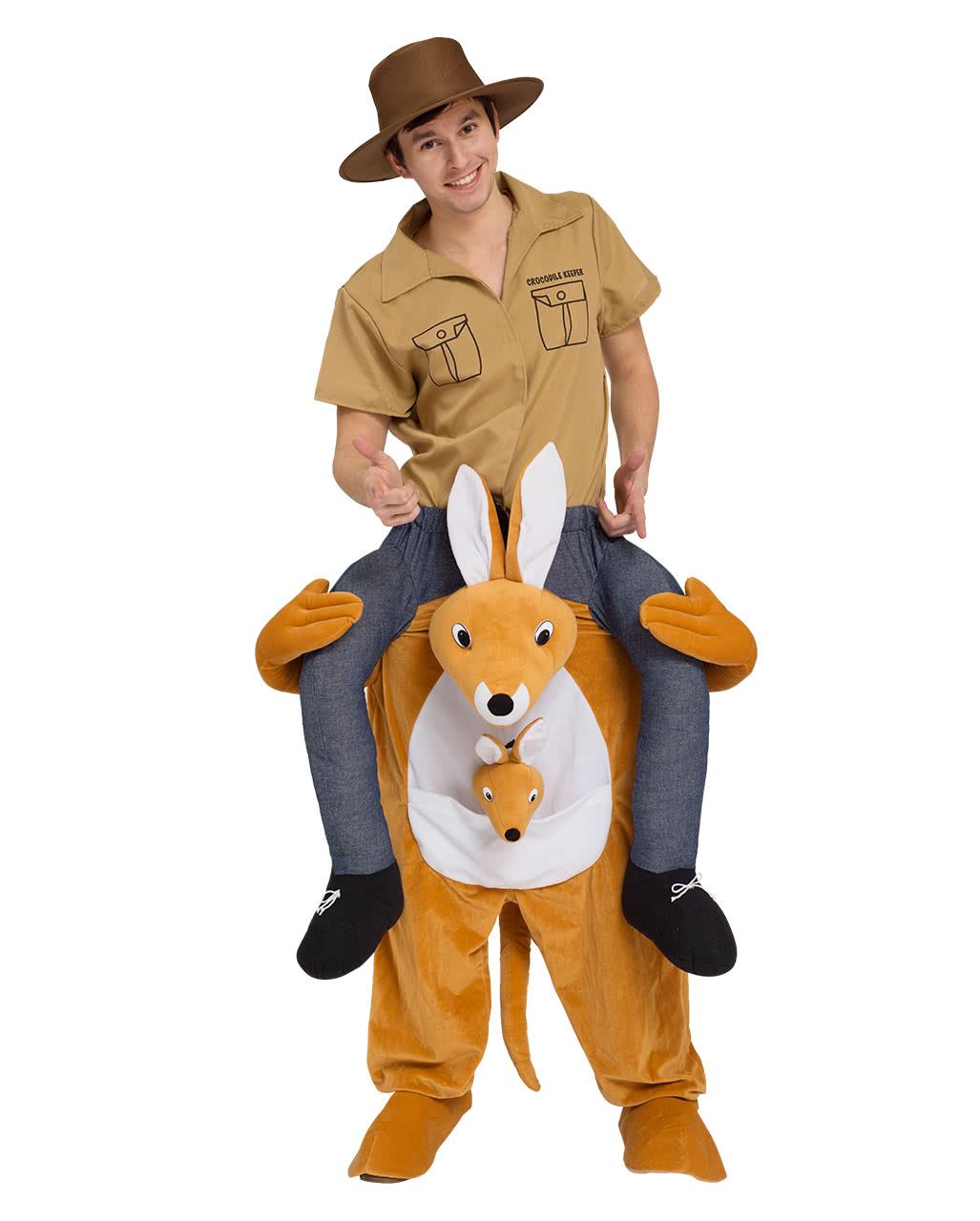 Kangaroo Carry Me Kostüm für Fasching   Horror-Shop.com