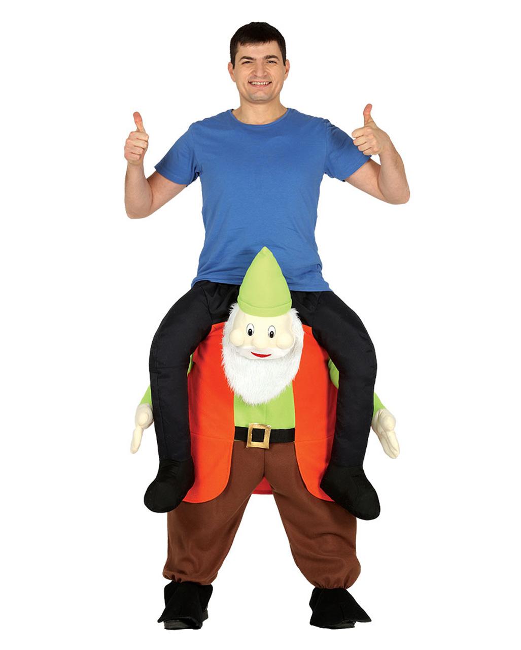 Reiter Auf Zwerg Carry Me Kostum Fur Karneval Horror Shop Com