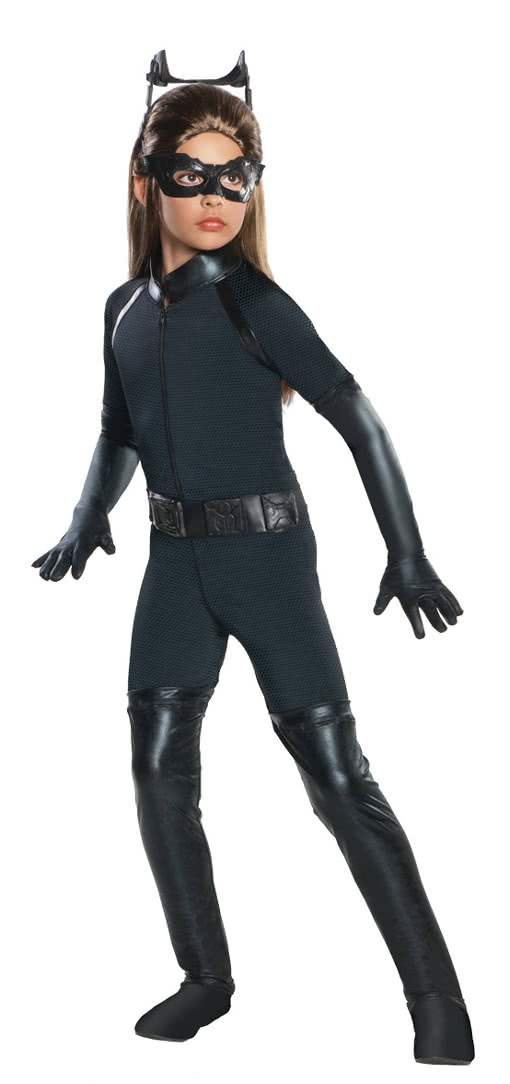 sc 1 st  Horror-Shop.com & Catwoman Kids Costume | Buy superhero costumes | horror-shop.com