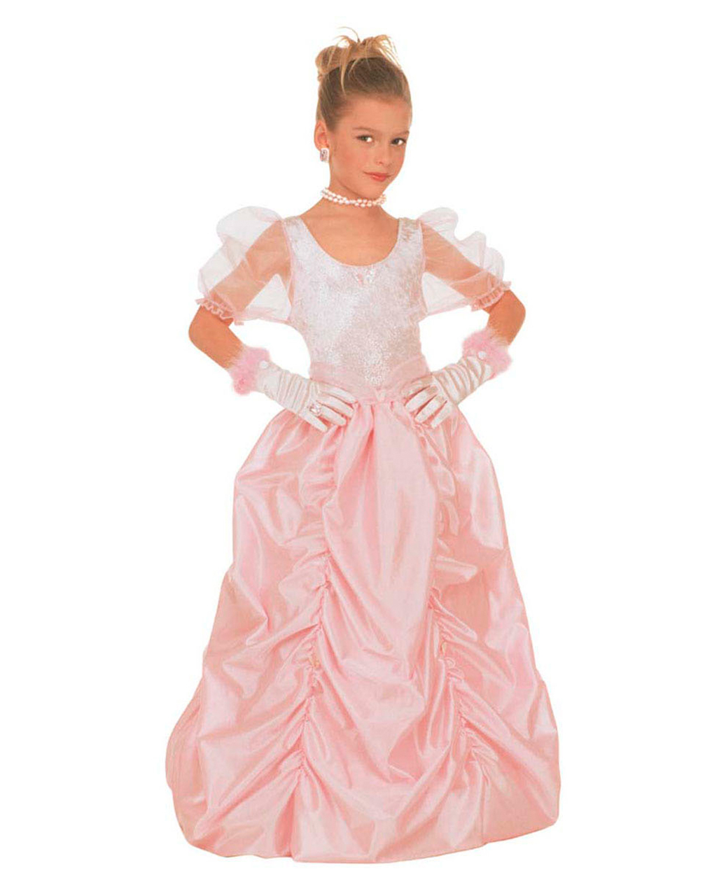 Cinderella Princess Kids Costume S  sc 1 st  Horror-Shop.com & Cinderella Princess Kids Costume S | Fairytale Costumes for girls ...