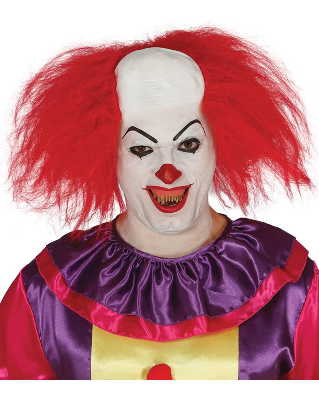 clowns wig with half bald