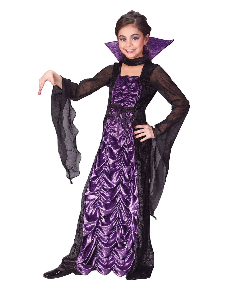 Countess of Darkness Child Costume. S  sc 1 st  Horror-Shop & Countess of Darkness Child Costume. S -Halloween Children costumes ...