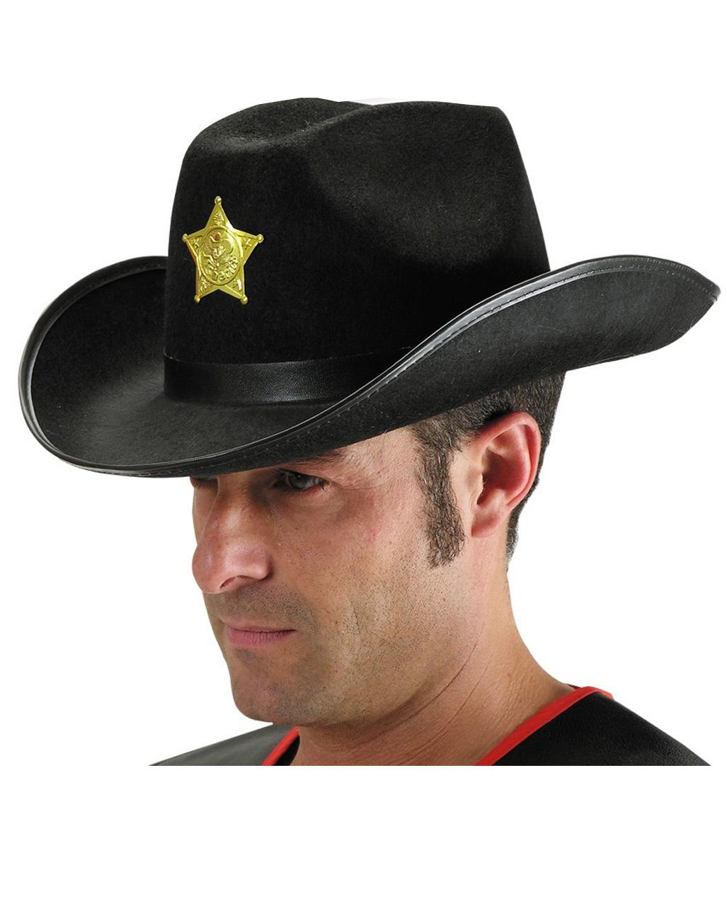 7742b810c4f Cowboy Hat Black for Carnival   Carnival