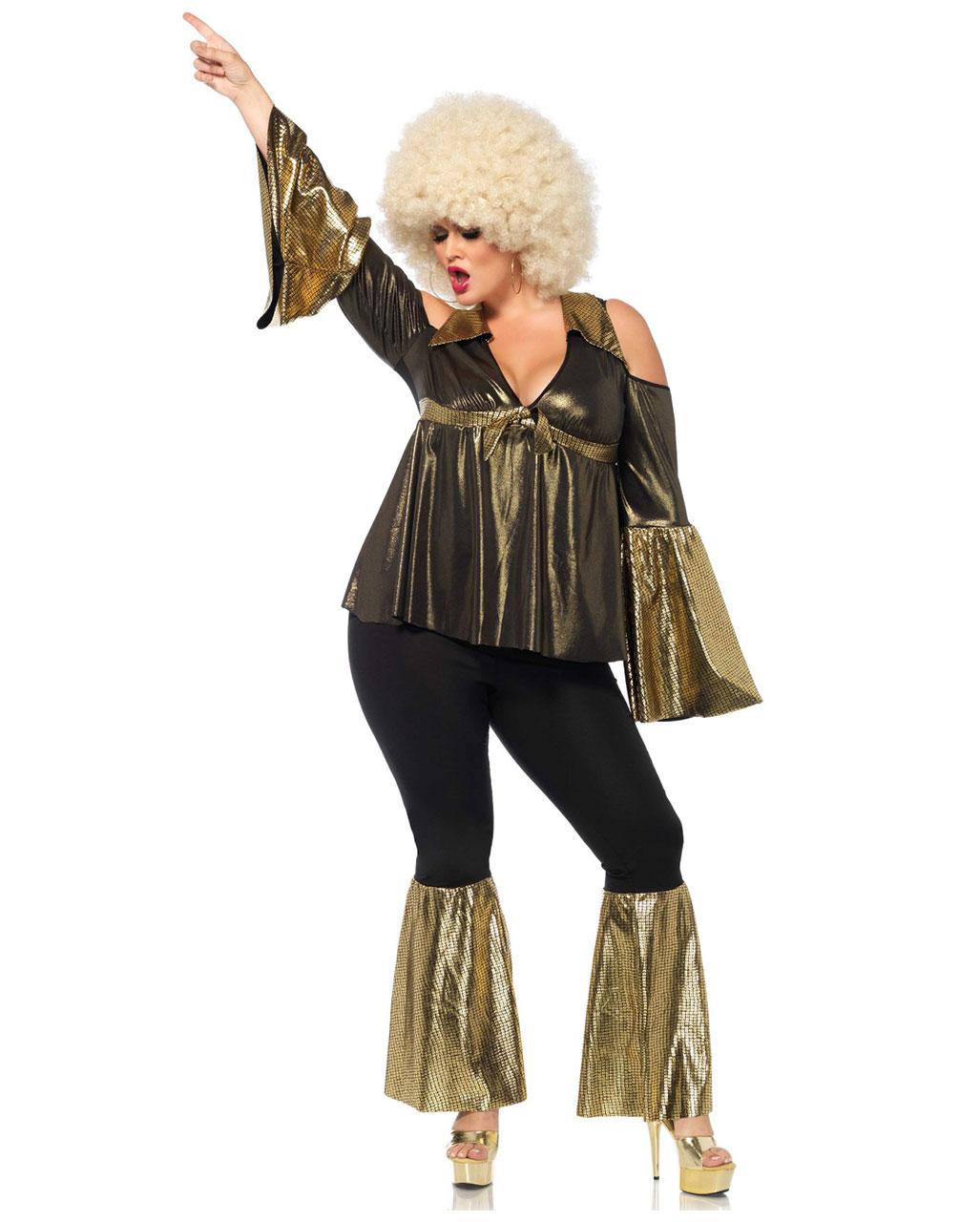 ded83a8c3c8149 Disco Diva Plus Size Costume for theme parties! | horror-shop.com