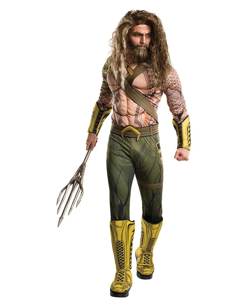 Aquaman Deluxe Herrenkostum Dc Superhelden Kostume Horror Shop Com