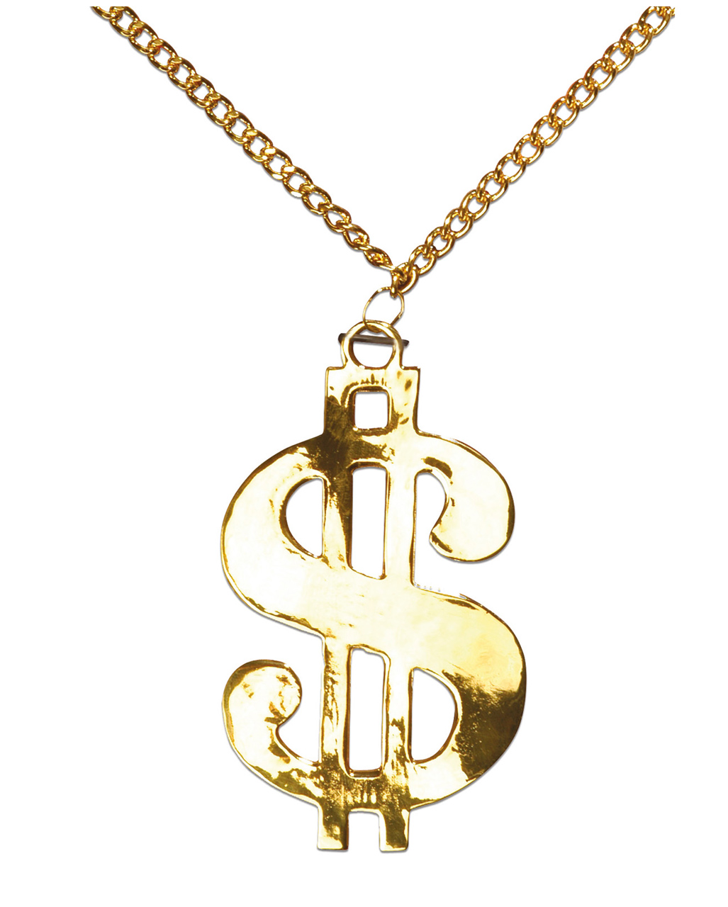 Dollar sign necklace  32a9f1ad84
