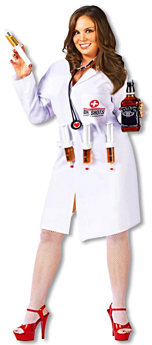 bb298586cbc1a Dr. Shots Nurse Costume Plus Size -Sexy Medical Assistant-Op Sisters Costume-  | horror-shop.com