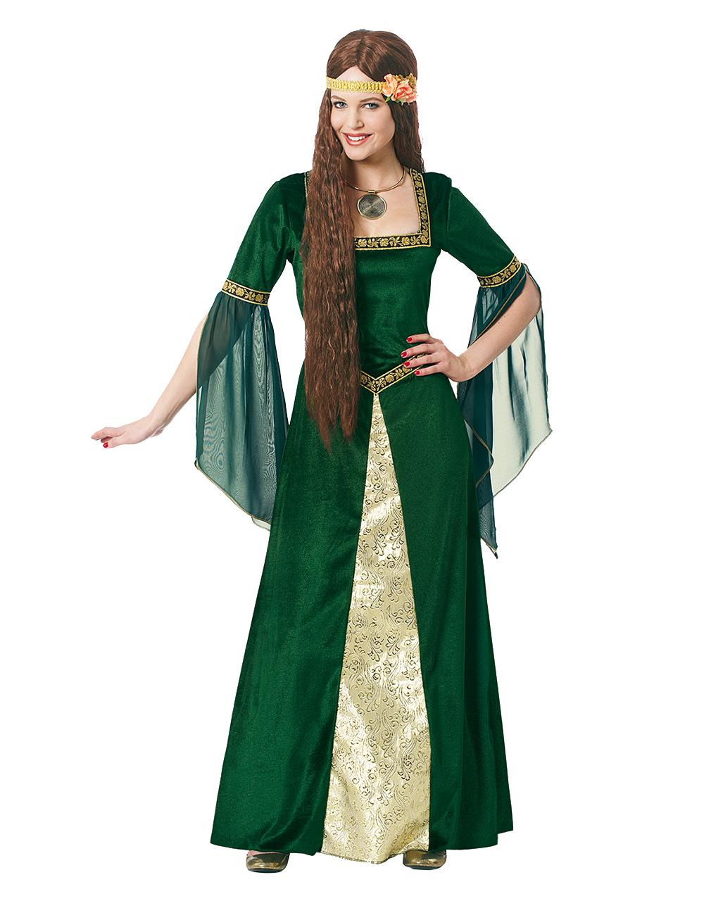 Noble Castle Woman Costume   Medieval Dress At Low Prices   Horror Shop.com