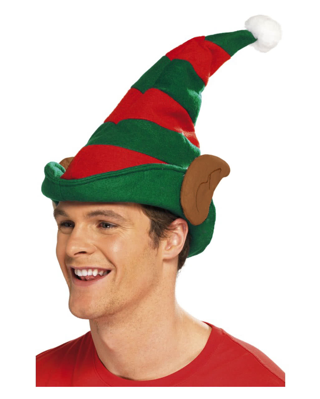7fddbaef1d0c9 Elf hat with ear for the Christmas Party