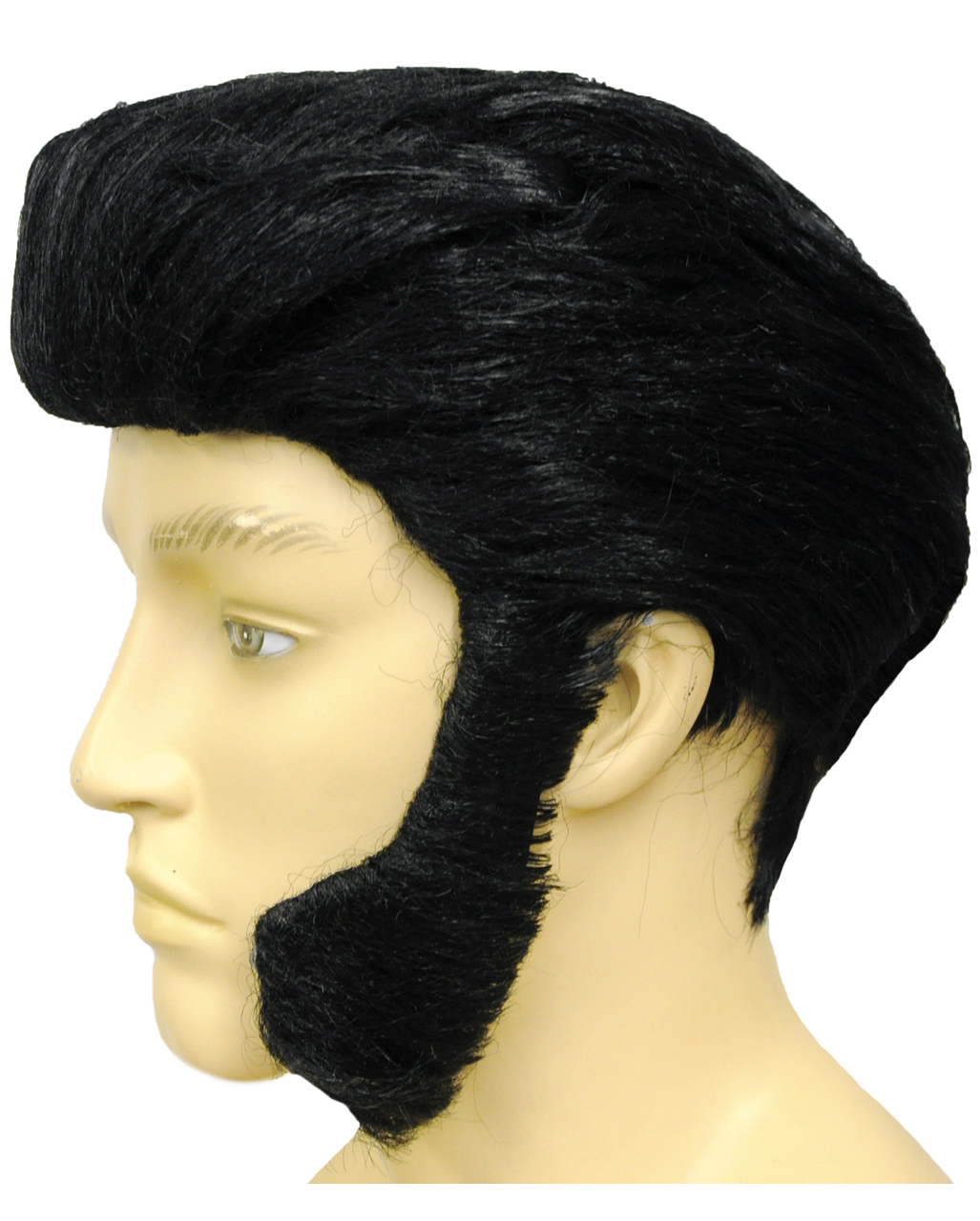 Elvis Wig With Sideburns for rock and roll  7964191b7908