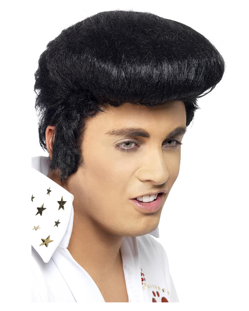 Elvis wig with sideburns Original Buy Original Elvis Wig online ... 79551edf4772