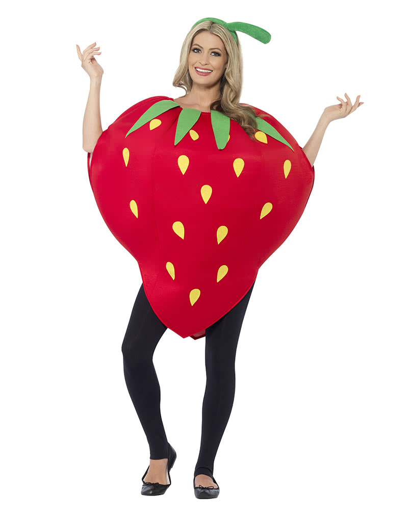 Strawberry Costume Unisex Fruchtchen Trim Horror Shop Com