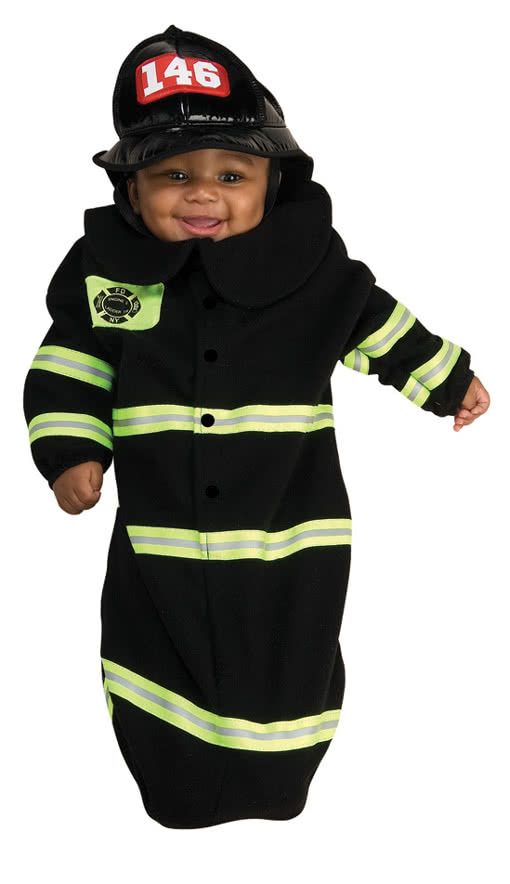 Firefighter Babykostum Feuerwehrmann Babystrampler Horror Shop Com