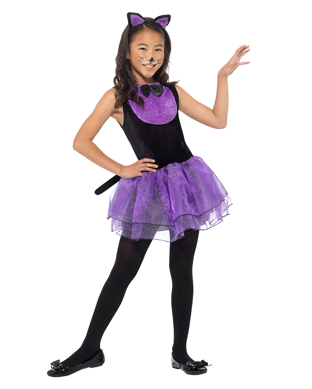 Freche Katze Madchen Kostum Als Halloween Kostum Horror Shop Com