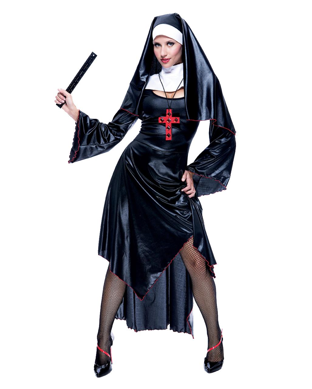 Frivoles Nonnen Kostum Ordensschwester Kostum Horror Shop Com