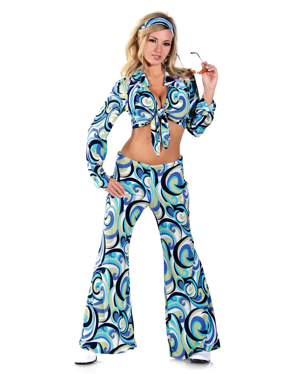 Funky Hippie Costume XLarge -Plus Size Hippie Costumes in Oversized ...