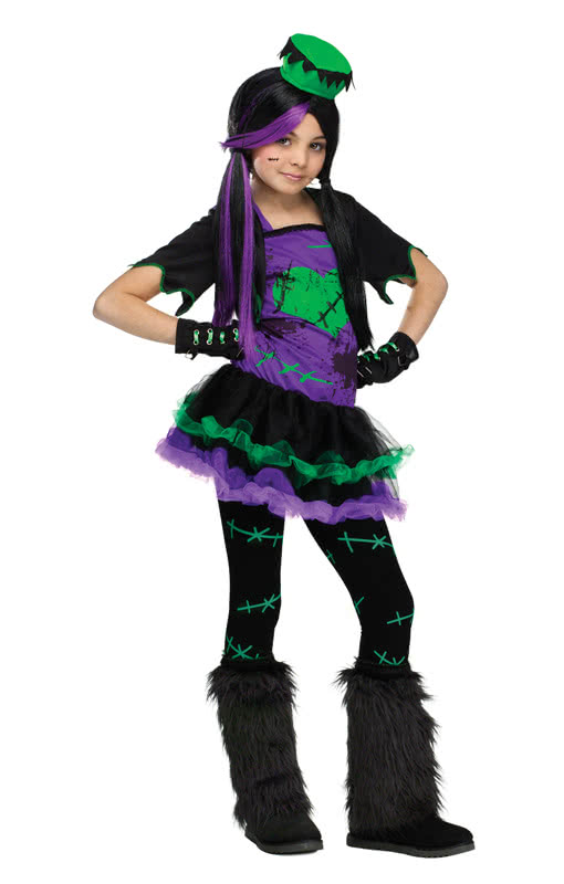 Funkie frankie child costume turn yourself into the disco version funkie frankie child costume turn yourself into the disco version of frankensteins daughter order now horror shop solutioingenieria Gallery