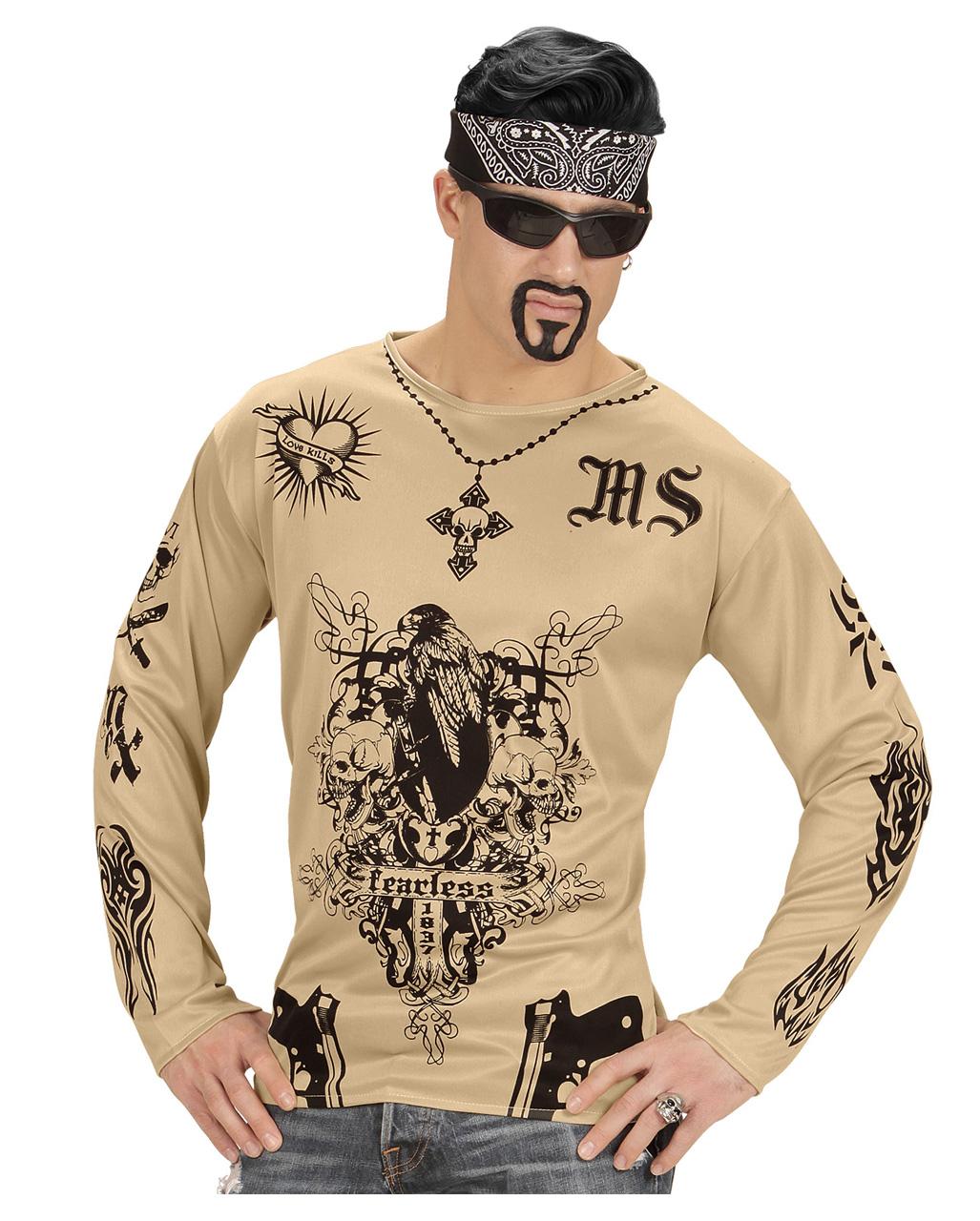 Gang Member Gangster T Shirt Bath Button Party Horror Shop Com