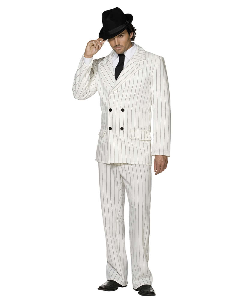 Gangster suit white | Classic mafia Kostm | horror-shop.com