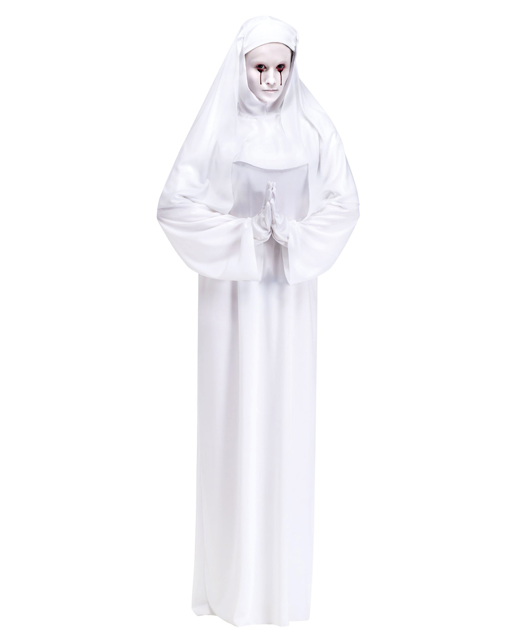 Geister Nonne Kostum Fur Halloween Horror Shop Com