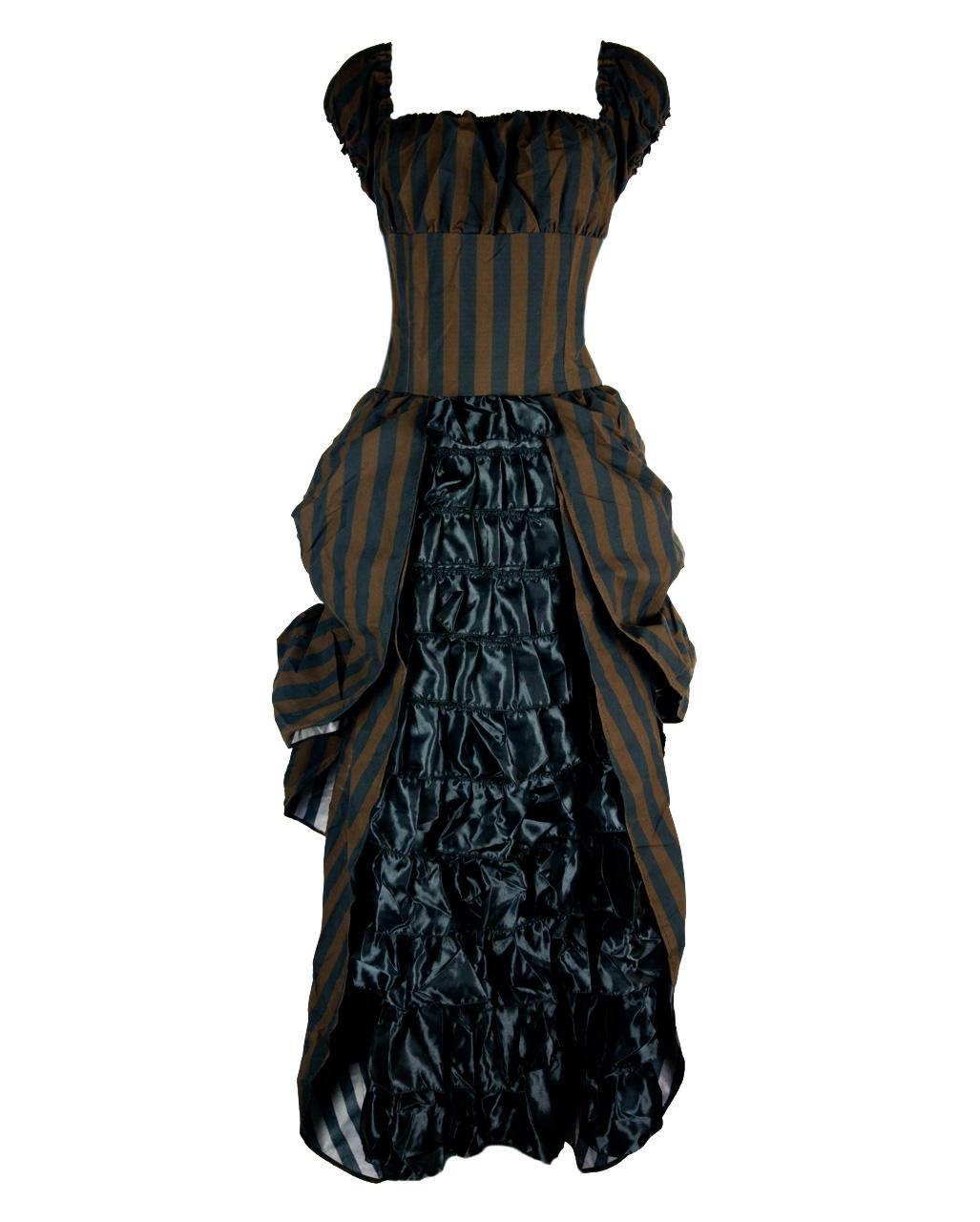 Victorian Dress Tesla Buy Steampunk Fashion | horror-shop.com