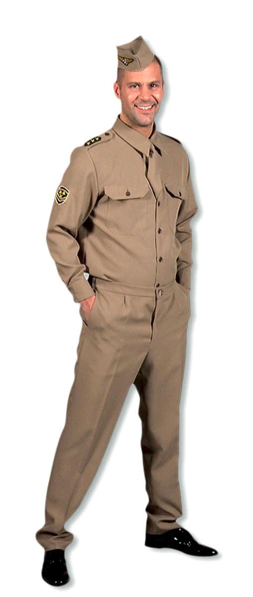sc 1 st  Horror-Shop.com & GI Costume 40s U.S. Army uniform allies uniforms | horror-shop.com