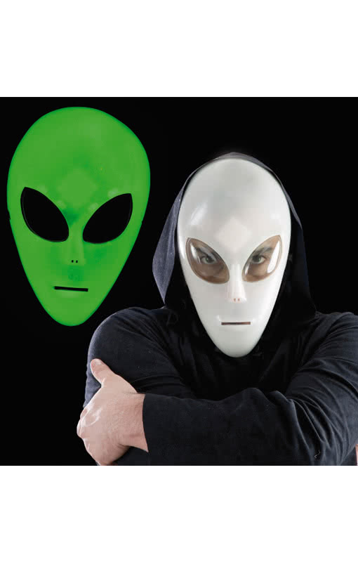 Alien Mask Glow in the Dark | Child Mask that Glows in the Dark | horror-shop.com  sc 1 st  Horror-Shop.com & Alien Mask Glow in the Dark | Child Mask that Glows in the Dark ...