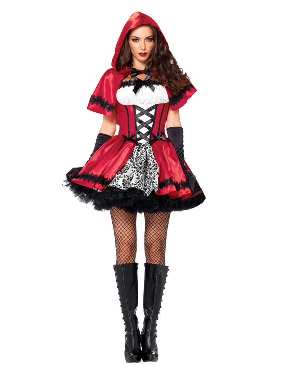 4f78e42ba5 Gothic Little Red Riding Hood Costume For Halloween