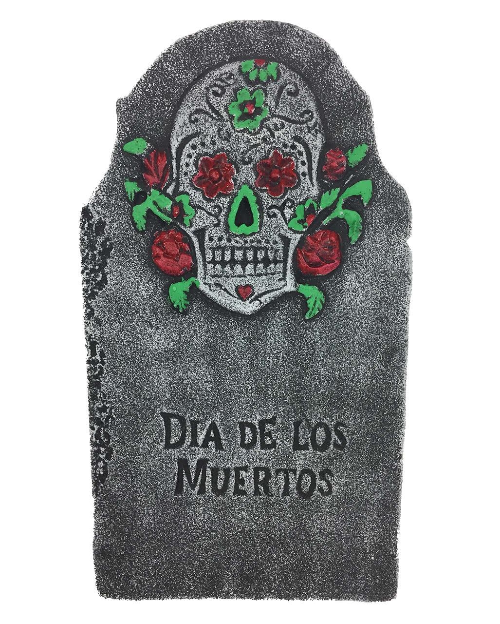 Headstone Dia De Los Muertos Halloween Decoration Horror Shop Com