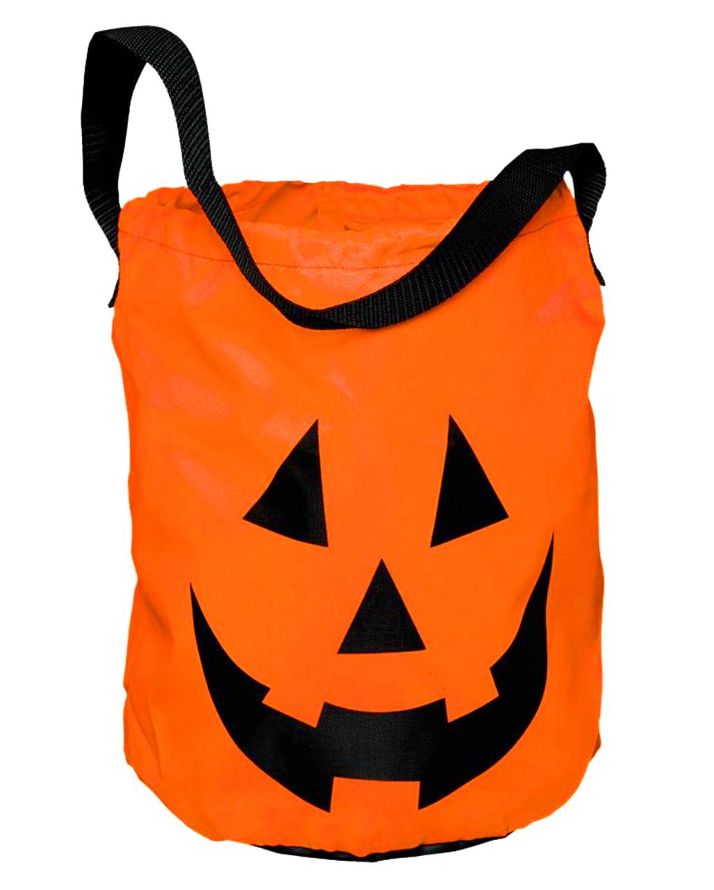 Pumpkin Bag  Trick Or Treat Bag Sack Halloween Bag Sweet Bag |  Horror Shop.com