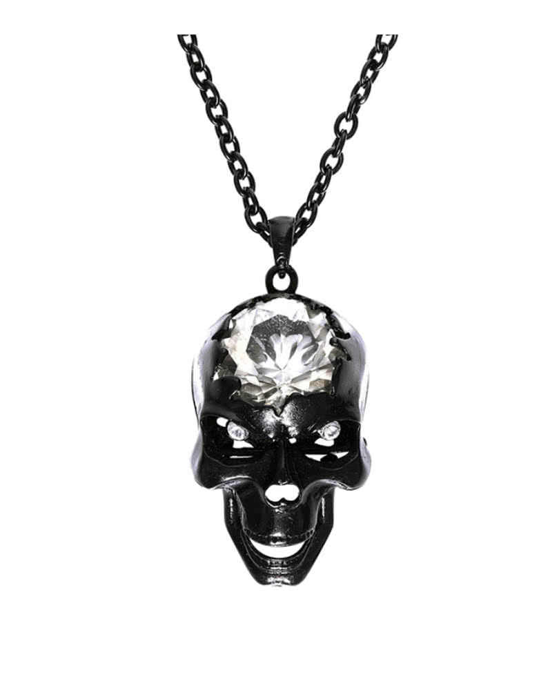 great frog web front pendant candy product the skull