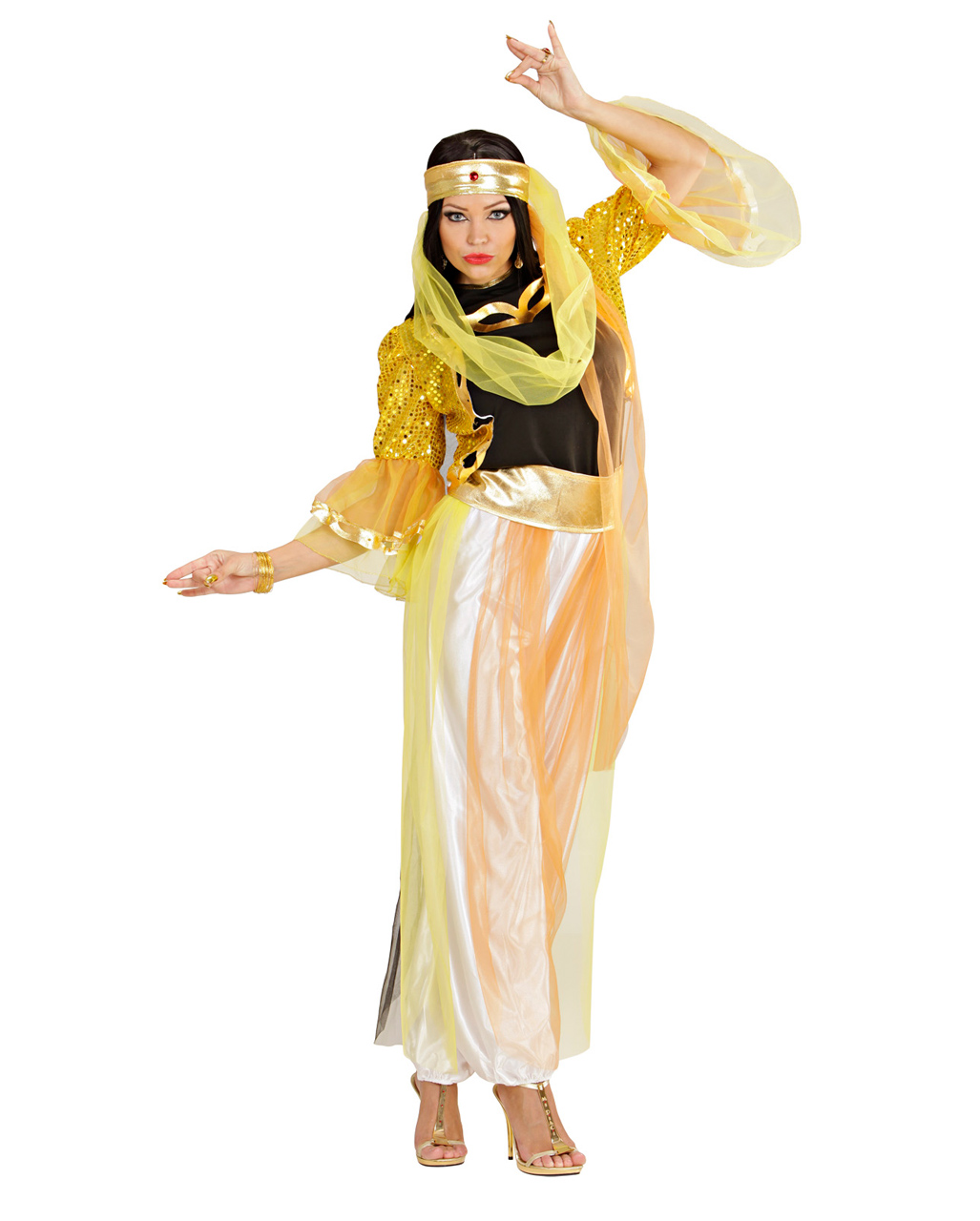 Harem dancer costume m oriental belly dance costume horror shop harem dancer costume m solutioingenieria Images