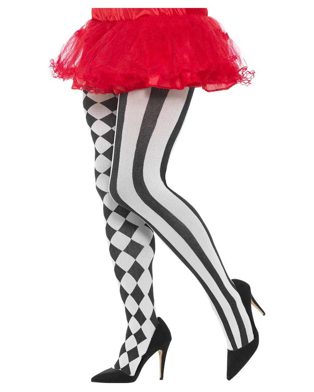 480262aa520b0 Harlequin pantyhose economy Plus Size ◇ Cosplay | horror-shop.com