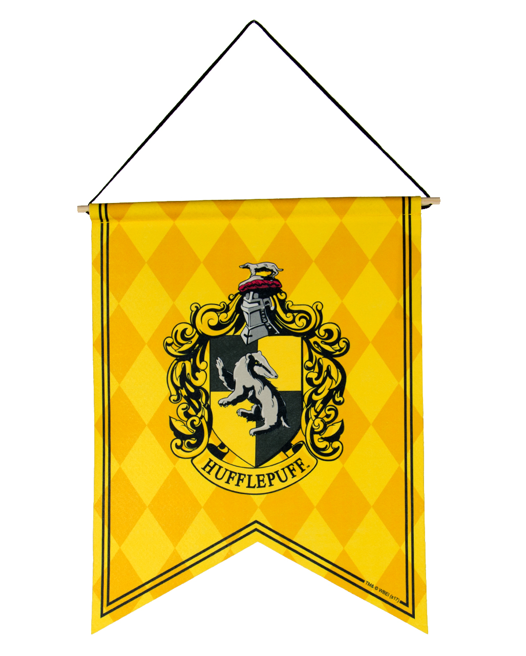 Harry Potter Hufflepuff Coat Of Arms Banner Buy Online Horror Shop Com