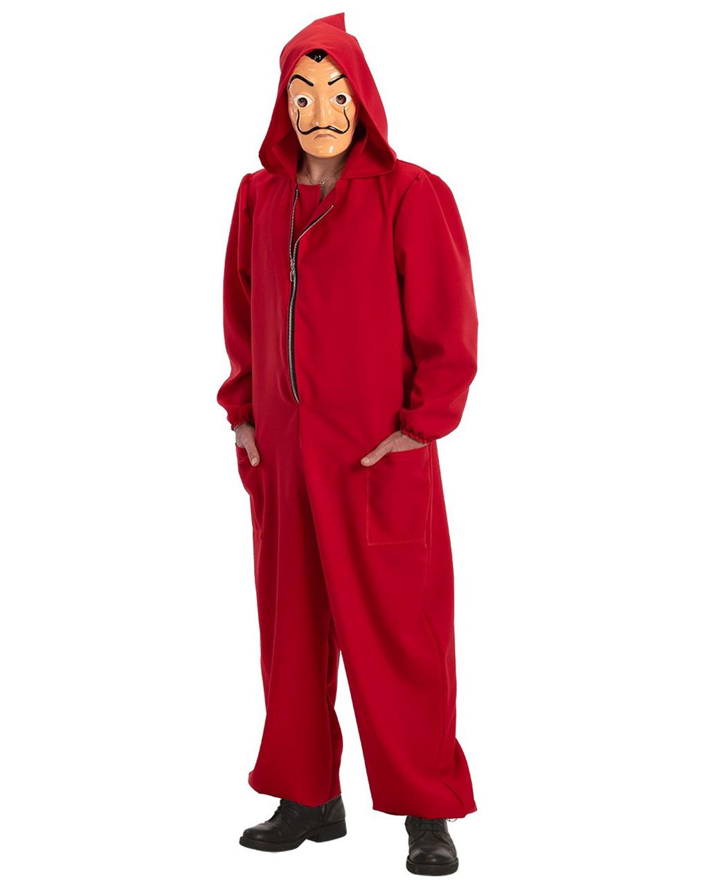 Haus Des Geldes Kostüm Overall Für Fasching Horror Shopcom
