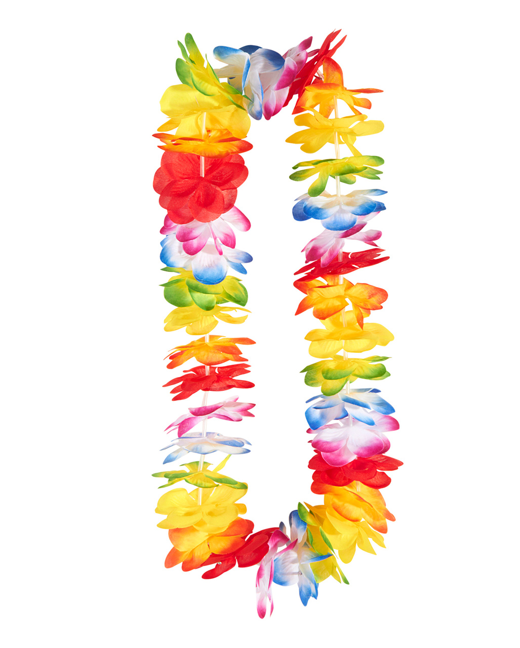 dhgate gay artificial inch leis pcs flower colour wholesale product garland linita rainbow multi from beach pride hawaiian party lot necklace luau